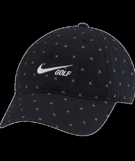 Forvasket Nike Heritage86-golfkasket - Sort