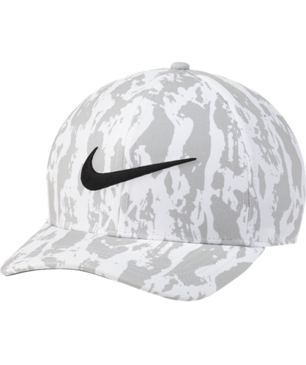 Nike AeroBill Classic99-golfkasket med print - Grå