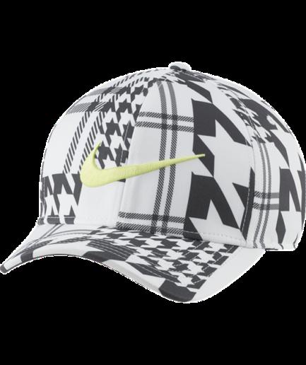 Nike AeroBill Classic99-golfkasket med print - Hvid