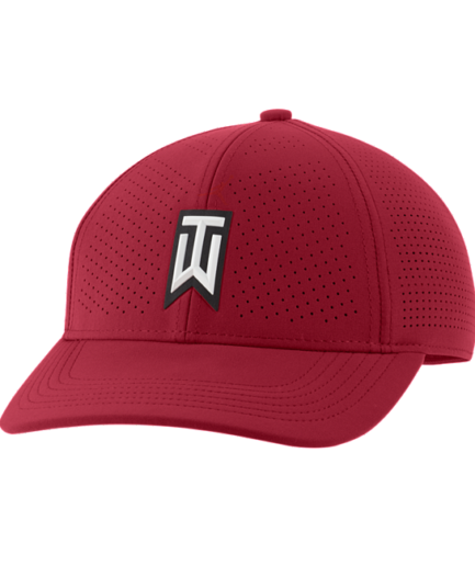 Nike AeroBill Tiger Woods Heritage86-perforeret golfkasket - Rød