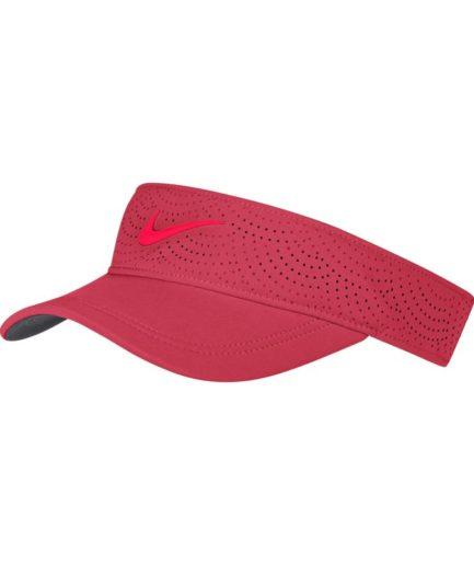 Nike AeroBill-golfsolskærm til kvinder - Rød