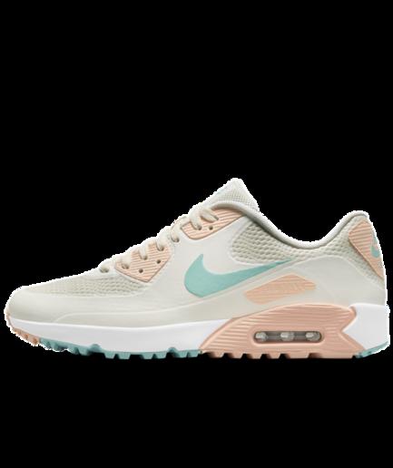 Nike Air Max 90 G-golfsko - Hvid