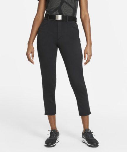 Nike Dri-FIT UV Ace-golfbukser med slank pasform til kvinder - Sort