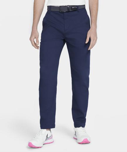 Nike Dri-FIT UV-golf-chinobukser med standardpasform til mænd - Blå
