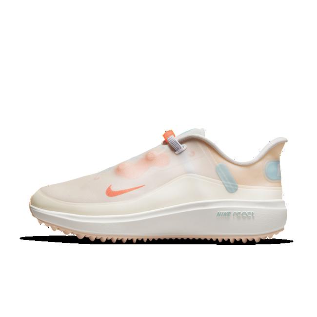 Nike React Ace Tour-golfsko til kvinder - Hvid