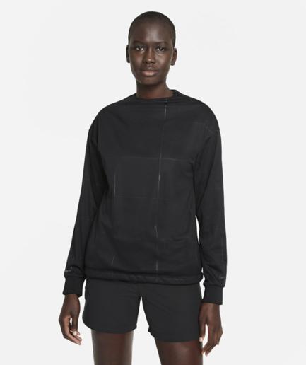 Nike Storm-FIT-golftrøje til kvinder - Sort