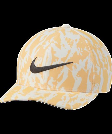 Nike AeroBill Classic99-golfkasket med print - Orange
