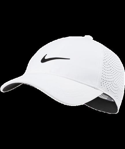 Nike AeroBill Heritage86-golfkasket til kvinder - Hvid