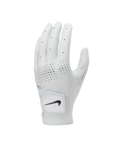 Nike Tour Classic 3-golfhandske til mænd (venstre, almindelig) - Hvid