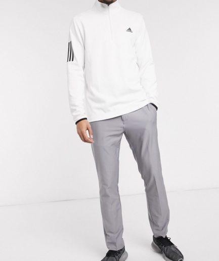 adidas Golf - Grå bukser med tre striber