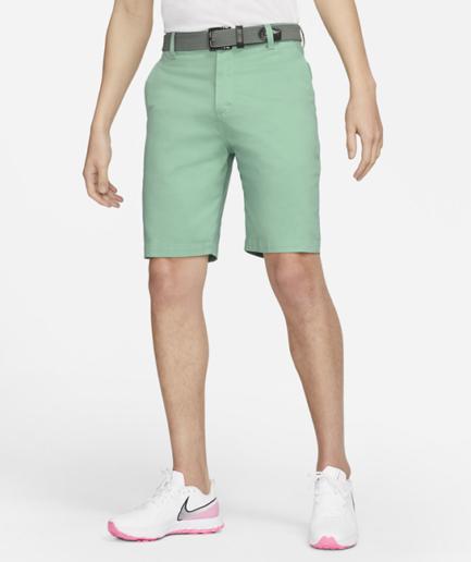 Nike Dri-FIT UV-golf chino-shorts (27 cm) til mænd - Grøn