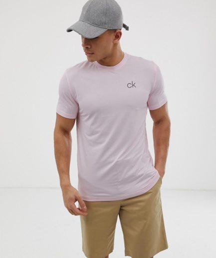 Pink t-shirt fra Calvin Klein Golf Newport