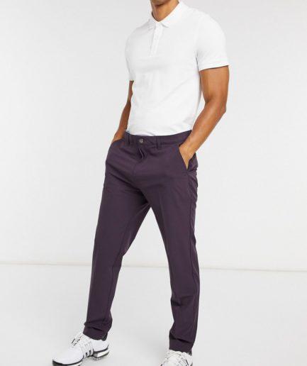 adidas Golf - Lilla, tapered bukser-Blå